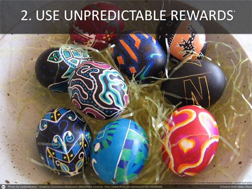 Use Unpredictable Rewards_Kvedar