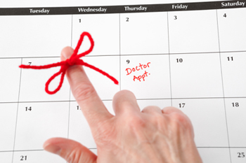 Calendar: Medical Exam Reminder/ Doctor Appointment